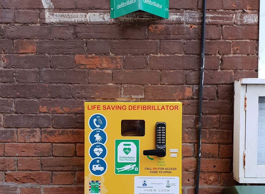 Chamber Funds Defibrillator